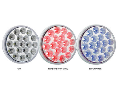 Dual Function LED light. S/T/T And Blue.