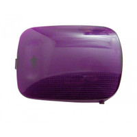 2006+ Peterbilt Rectangular Dome Light Lens - Purple