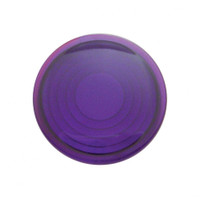 2006+ Peterbilt Round Dome Light Lens - Purple
