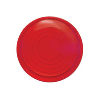 2006+ Peterbilt Round Dome Light Lens - Red