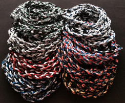 "Bulk order for 400 Braided 3-Rope 20"" Sport Necklaces!  Perfect to add as part of your uniform for baseball & softball organizations!"