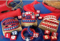 Custom Sport Bracelet with Number