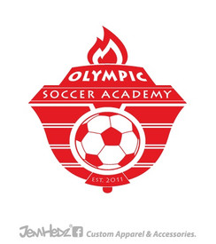 Olympic Soccer Decal