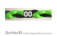 Neon Green/Neon Green/Black Headband