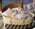 Organic Cotton Doll Basket