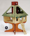 Wooden Tree House Doll House