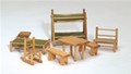 Doll House Camp Furniture Set