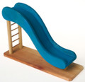 Wooden Dollhouse Playground Slide