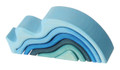 Water Wave Tunnel Stacking Toy - Small