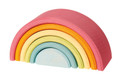 Wooden Pastel Rainbow Tunnel