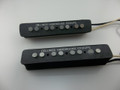 Cellino's Hand Wound Pickups Hot .44 Mag Specials Jazz Bass© Style Pickup Set.