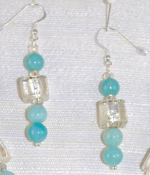 Close up details of Drop Earrings