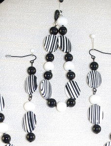 Close up Bracelet and Drop Earrings
