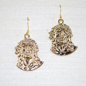 View of converted Drop Earrings