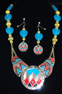 Complete view of necklace set