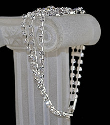 Details showing clasp and back side of bracelet