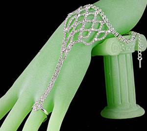 Streaming Slave bracelet on hand model