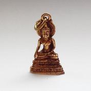 3D Brass Buddha Pendant