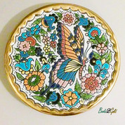 Cearco Handmade Decorative Plate-Rare Vintage