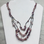 Amethyst Handcrafted Necklace -