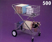 Wire Basket Utility Cart