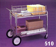 Wire Basket Utility Cart 510
