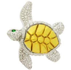 Reyes Del Mar Turtle Pendant