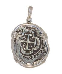 Reyes Del Mar Sterling silver Atocha Pendant