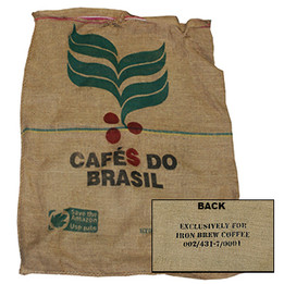 Authentic Burlap Coffee Bag