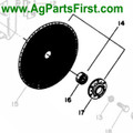 Fertilizer Disc Assembly