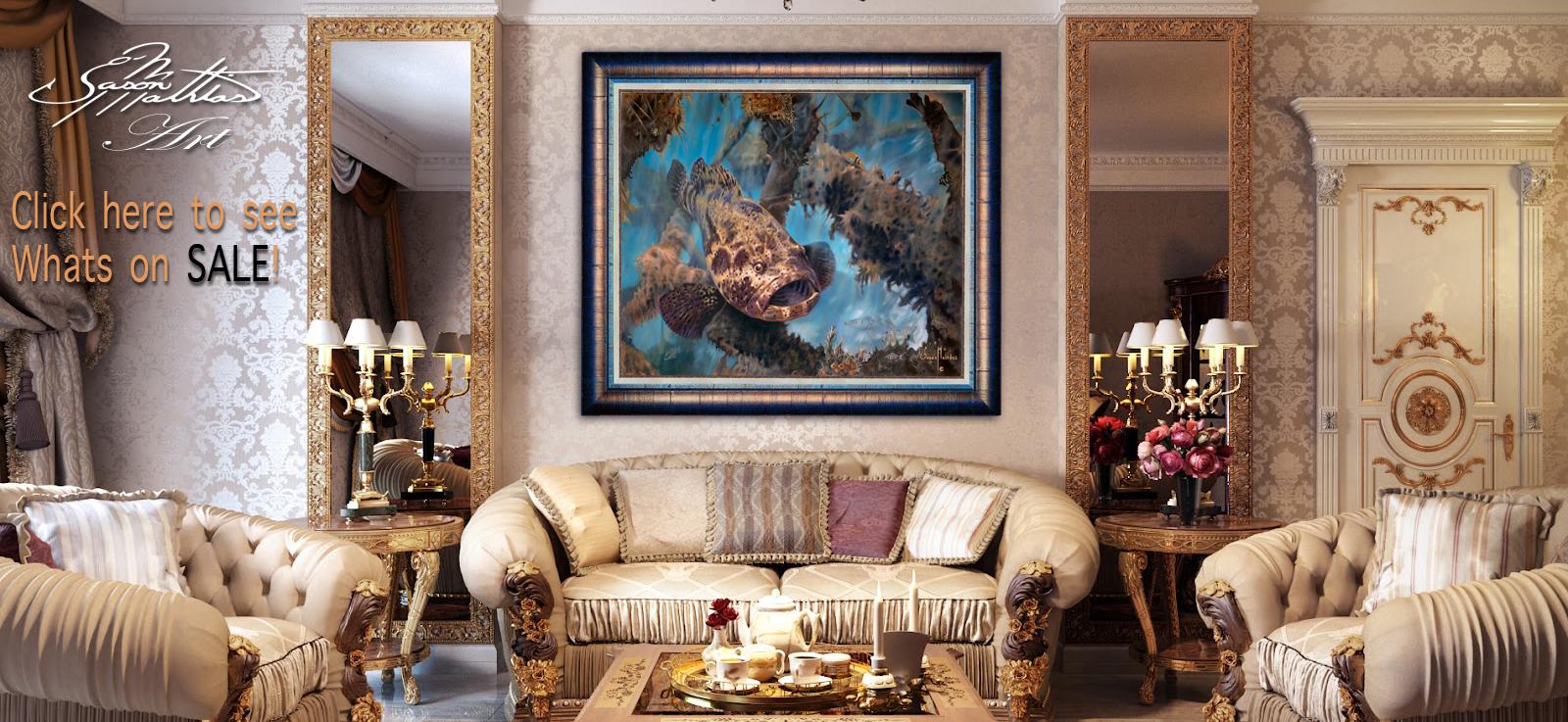 Jason Mathias Art, Gamefish art, Sportfish art, outdoor products, gifts, wall art, fine art, fish art, prints, originals, fishing art, posters, sale