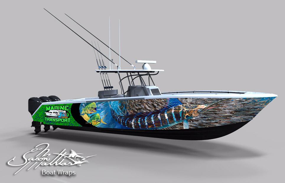Boat Wrap Art And Design Ideas And More Jason Mathias Art