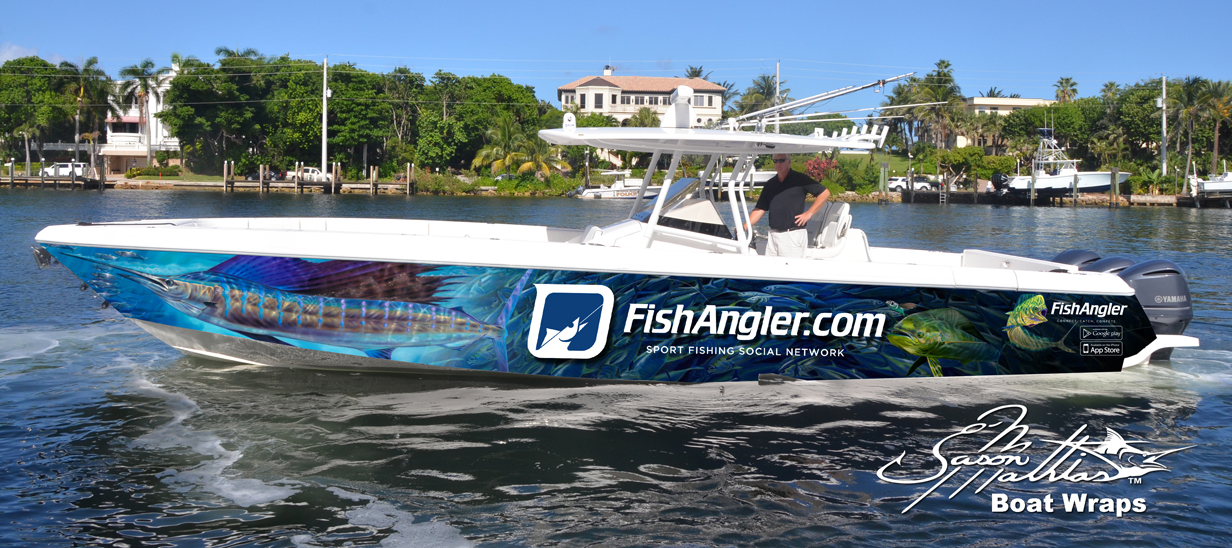 boat wrap art and designs jason mathias cool ideas sailfish fishing gamefish sportfish boat yacht