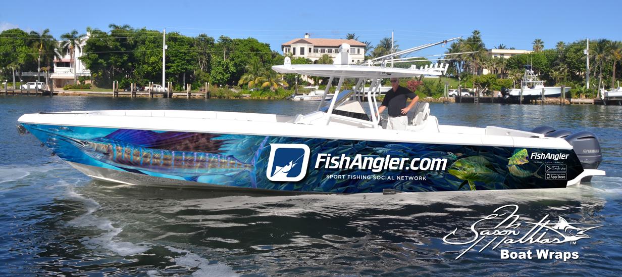 boat wrap art and designs jason mathias cool ideas sailfish fishing gamefish sportfish boat yacht - Boat Graphics Designs Ideas