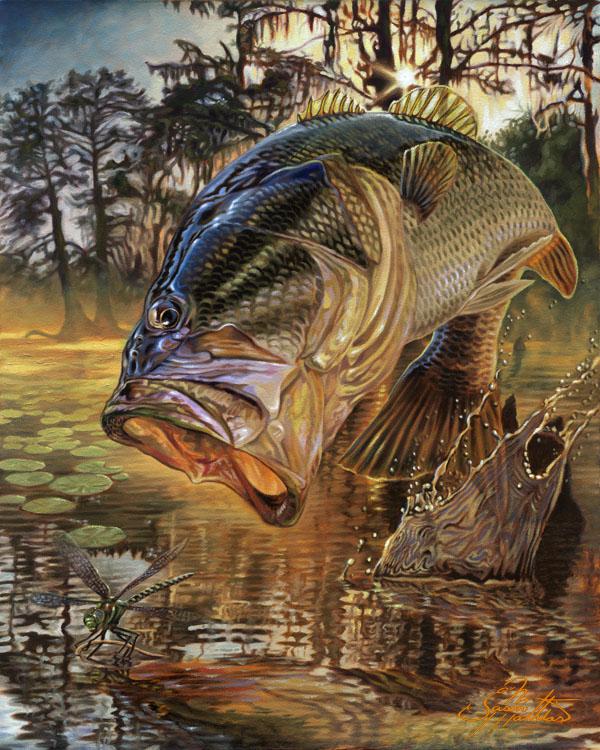 largemouth-bass-original-jason-mathias-art-dragon-slayer-painting.jpg