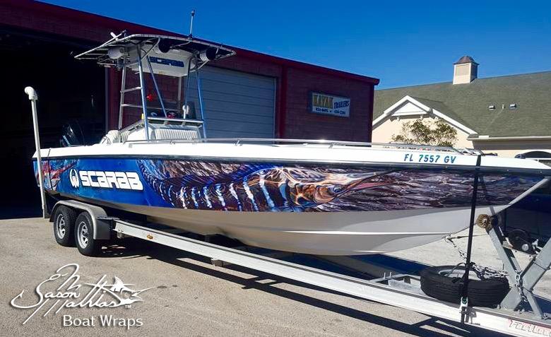 Jason Mathias Boat Wrap Designs