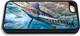 """""""iPhone 5c fine art phone case"""" by artist Jason Mathias: Carry around this unique piece of personalized art of a lit up White Marlin competing with a Spearfish over Sardines while protecting your phone all at the same time!"""