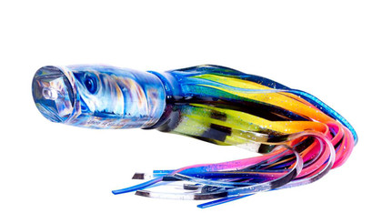 The Jason Mathias Fine Art Baby Yellowfin Big Game Teaser is sure to land you a Grander. Or just teasing that tournament winner to the boat. The Baby Yellowfin Big Game Teaser does it both. Created from a beautiful piece of artwork by artist Jason Mathias, this teaser is sure to fool any Marlin. All handmade in the USA!