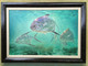 Original Palometa Pompano painting. Jason Mathias art