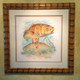 Original Jason Mathias painting. Redfish.