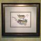 Original painting. Trout.
