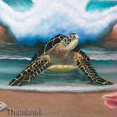 Beach Bizarre (Sea Turtle)