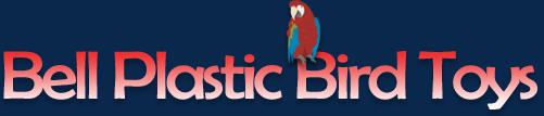 Bell Plastic Bird Toys
