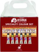 Jo Sonja Paint Metallic Color Set