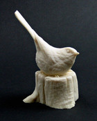 Study Cast - Chickadee - on stump