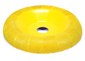 "Saburr Tooth Donut Wheel 4"" - fine grit"