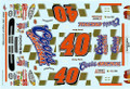 WW64 #40 Coors Original 2002 Sterling Marlin