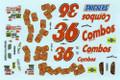 #36 Combos Pontiac Ken Schrader
