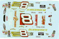 #8 Budweiser/True Music California 2004 Dale Earnhardt Jr