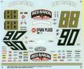 #88 & #90 Red Baron Buddy Baker  Ken Schrader